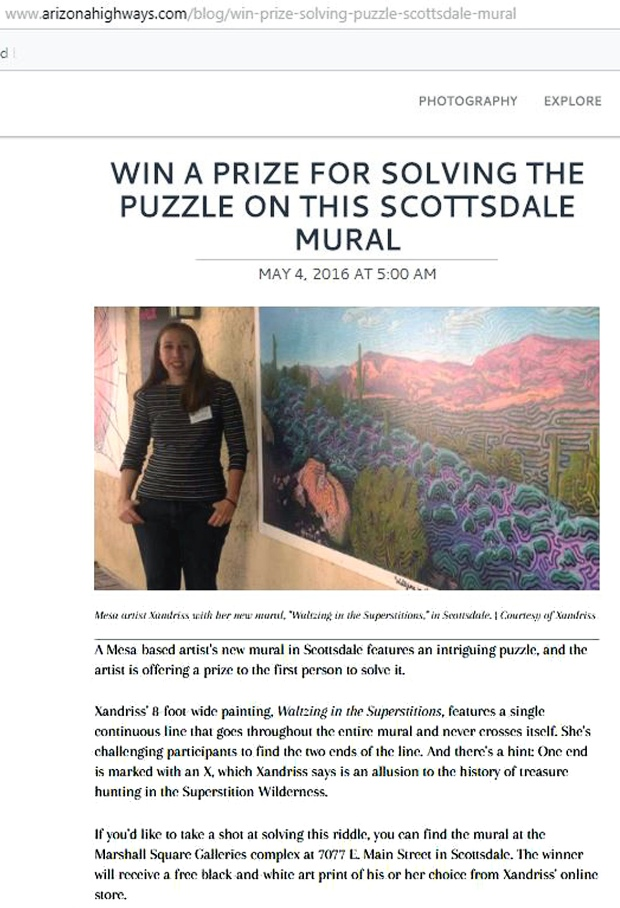AZ Highways Mural Challenge feature 5_4_2016